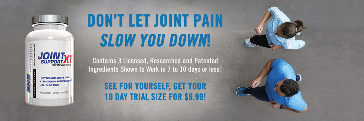 Dont let joint pain slow you down! Joint Support XT
