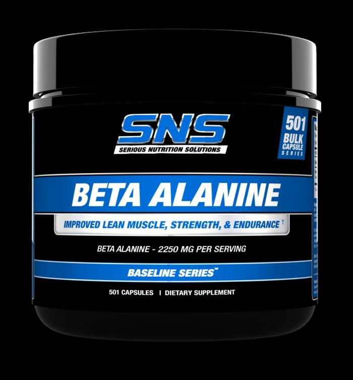 Beta Alanine 501 cap