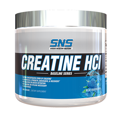 Creatine HCI, Blue Raspberry, Container