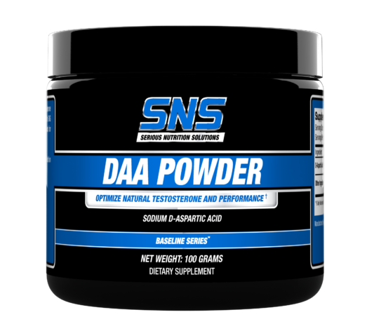 DAA Powder Supplement Container