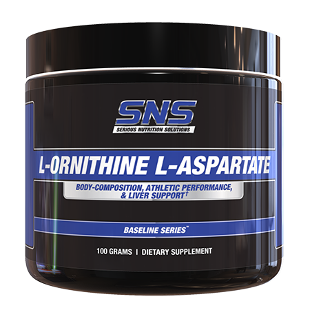 L-Ornithine L-Aspartate Supplement Container
