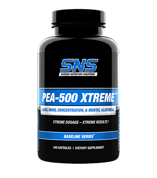 PEA-500 Xtreme 240 supplement container
