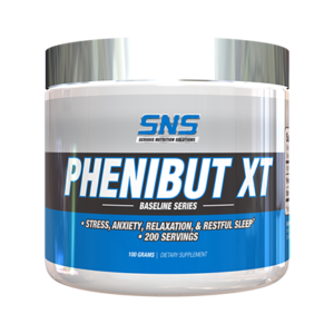 Phenibut XT Powder Supplement Container