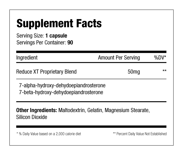 Reduce-XT Supplement Facts