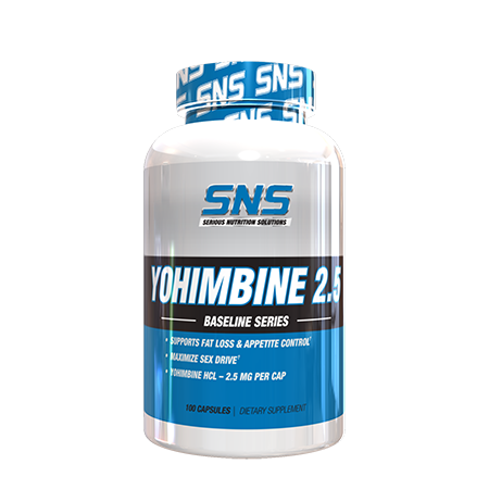 Yohimbine Supplement Container