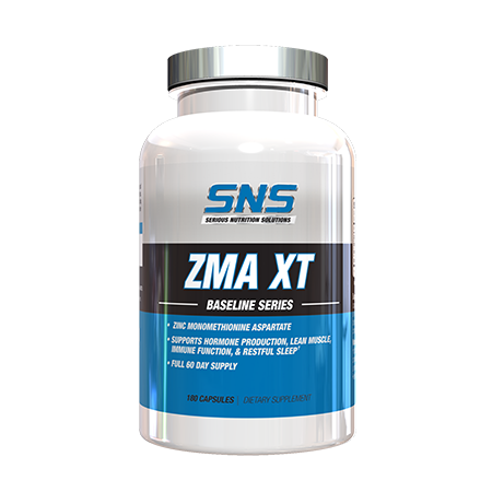 ZMA XT Supplement Container